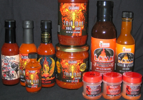 trinidad and tobago scorpion sauces