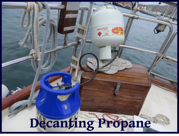 decanting propane
