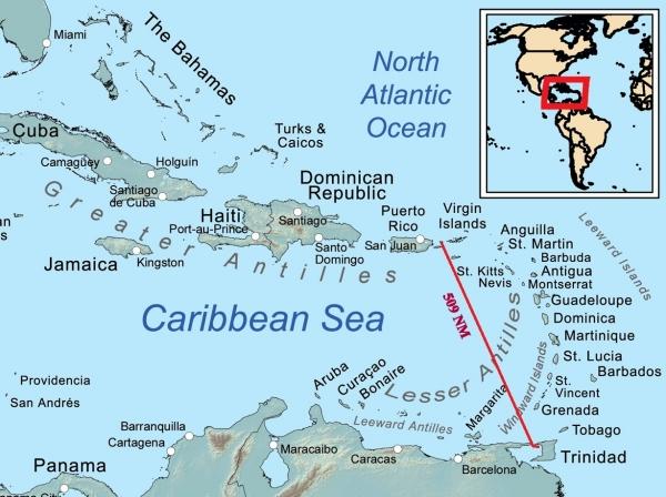 trinidad to culebra puerto rico