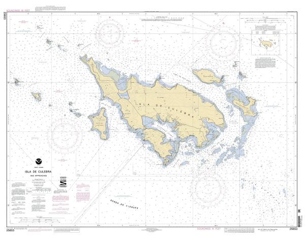 culebra nautical chart