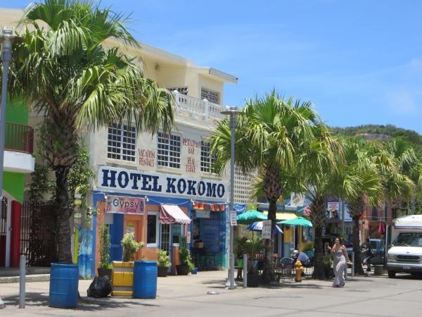 ferry terminal area in puerto rico