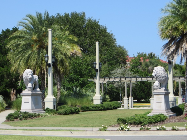 bridgel of lions st. augustine florida