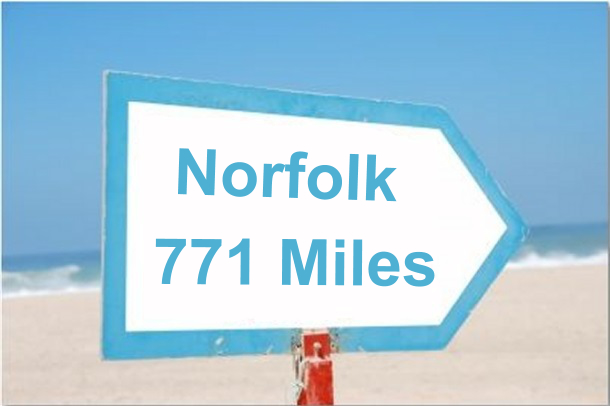 norfolk 771 miles