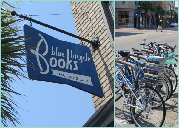 blue bicycle book in charleston, south carolina