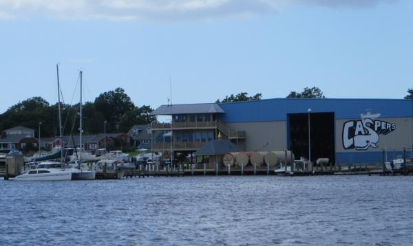 caspers marina on the intracoastal waterway
