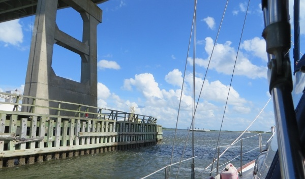 a bridge on the intracoastal waterway