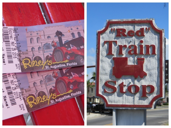 tickets and train in st. augustine florida