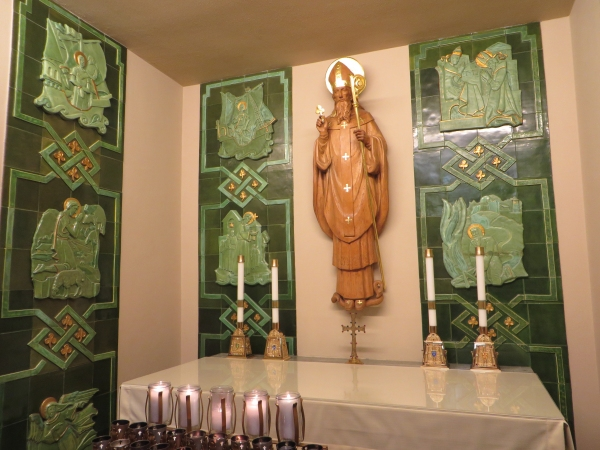 st. patrick in st. augustine cathedral