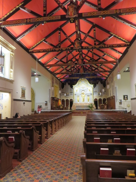 inside st. augustine cathedral