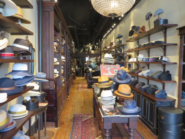 goorin bros. hat shop in charleston, south carolina