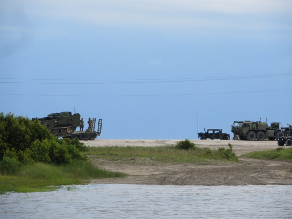 military on the intracoastal waterway