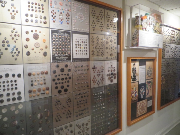 button collection, lightner museum, st. augustine, florida