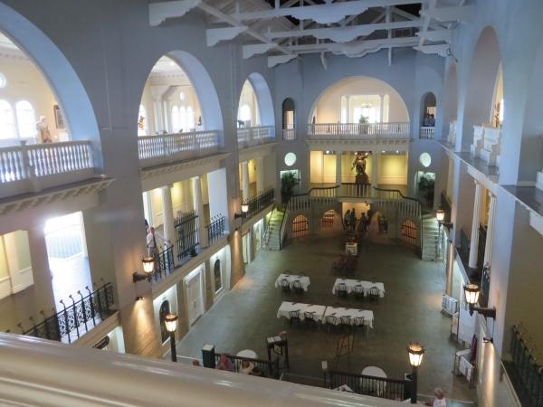 swimming pool now restaurant, lightner museum, st. augustine, florida