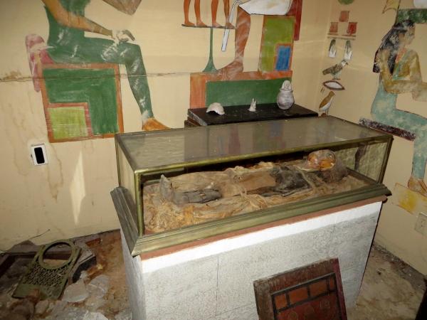 mummu at lightner museum, st, augustine, florida