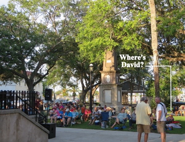 where's david in st. augustine