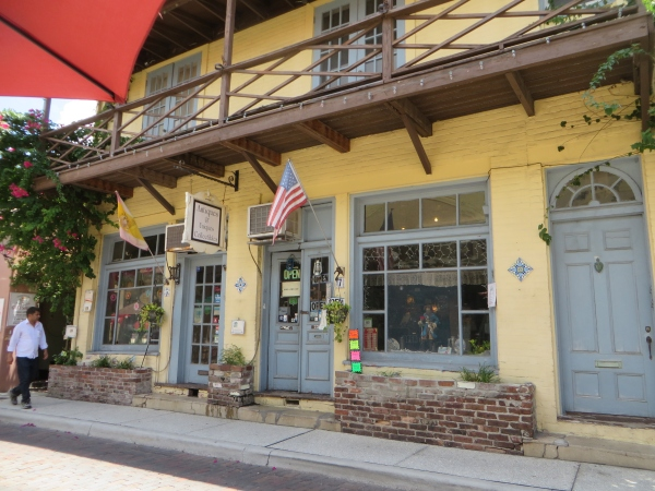 shop on aviles street st. augustine, florida