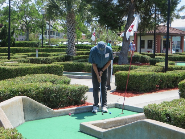 mini golf winner st. augustine, florida