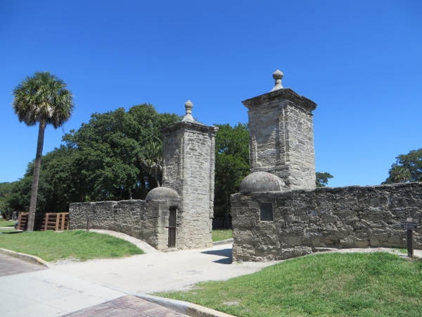 old city gate st. augustine, florida