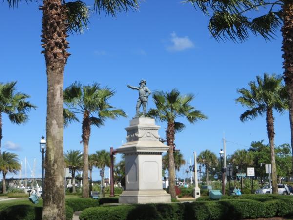 ponce de leon statue st. augustine, florida