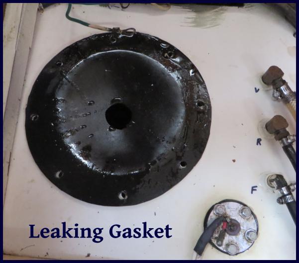 leaking gasket