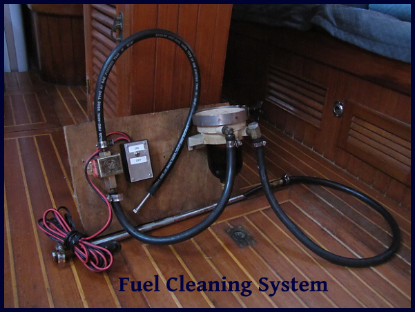 fuel cleaning system