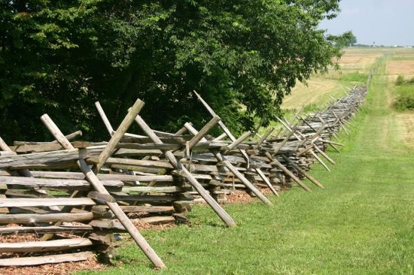 split rail fences