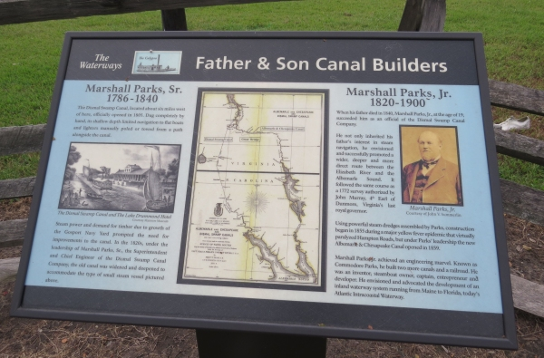 father son canal builders