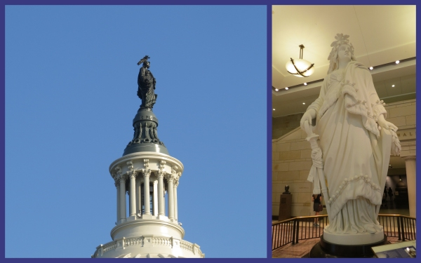statue of freedom capitol building washington dc