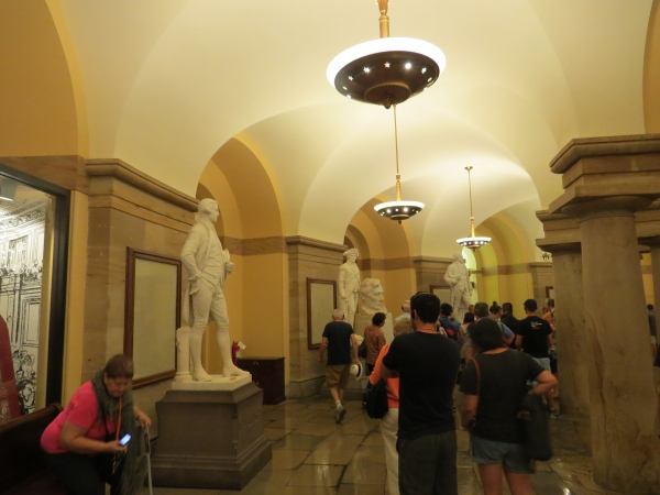 hall of statuary capitol building washington dc