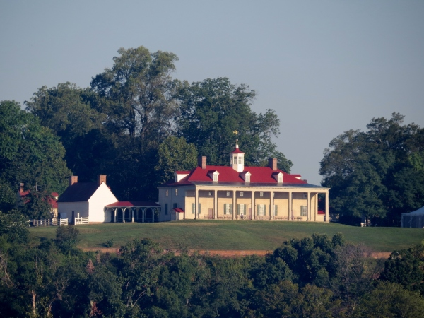 mount vernon from potomac river