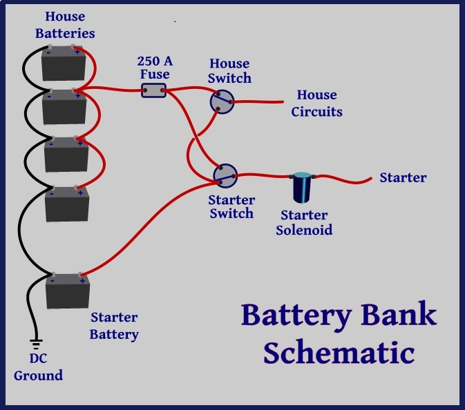 battery schematic