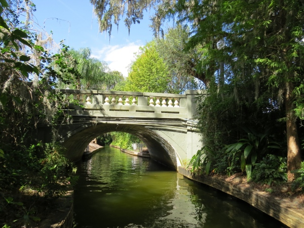 canal bridge in florida