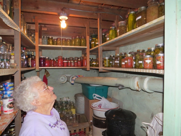 aunt bette's canning pantry