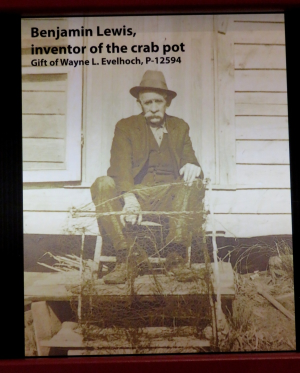 benjamin lewis inventor of the crab pot