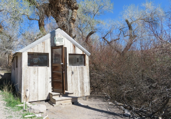 modest museum at china ranch date farm