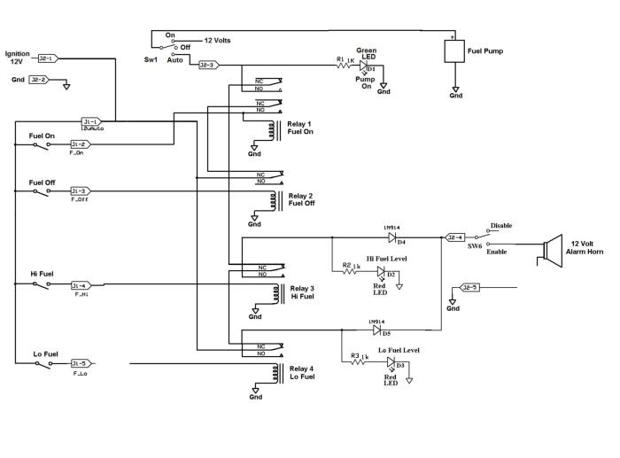 Figure 6. complete controller schematic