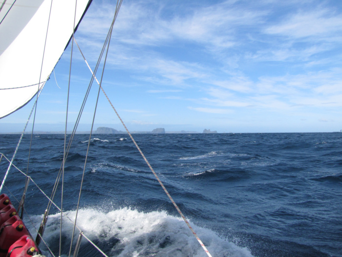 the Chathams in Sight