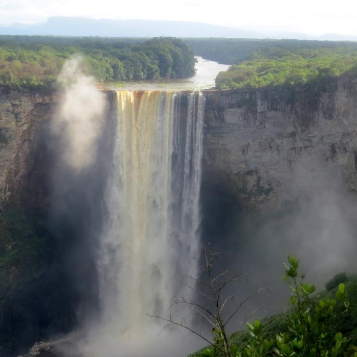 guyana's kaiteur falls
