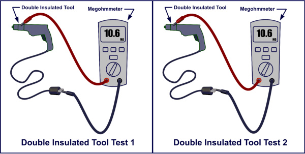 tool insulation test