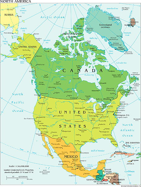 North America Just a Little Further