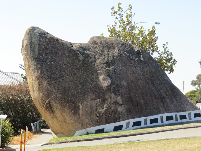 Local landmark, Dog Rock