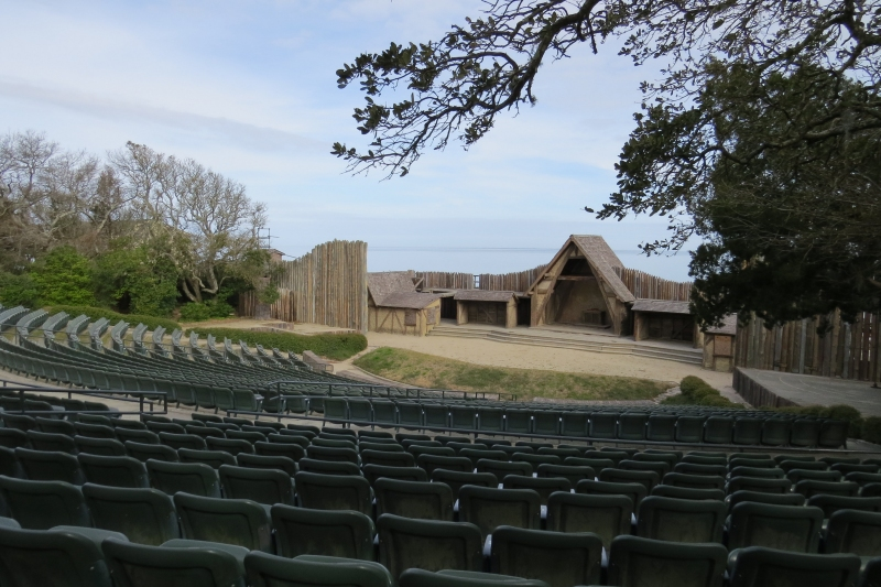 The venue for the Lost Colony Theater seemed so perfect.