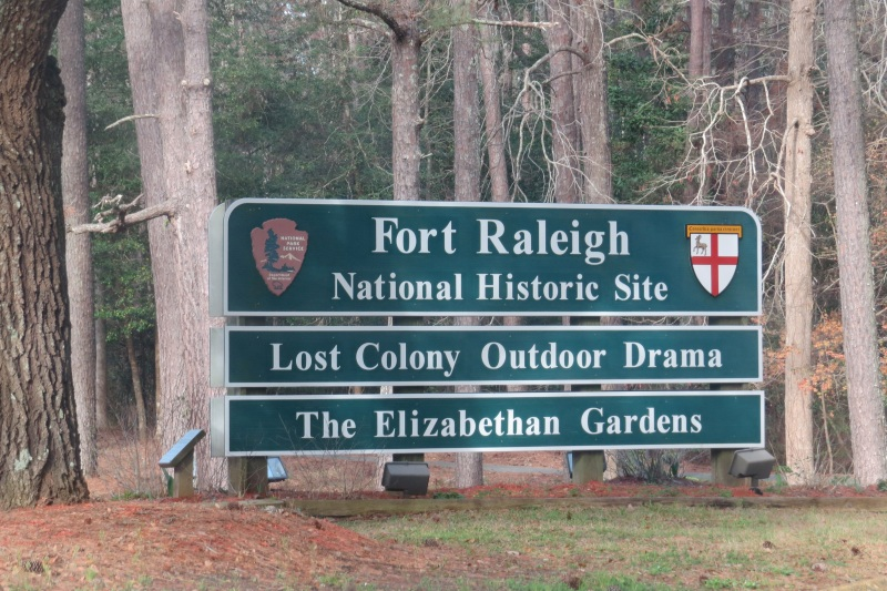 Welcome to Fort Raleigh