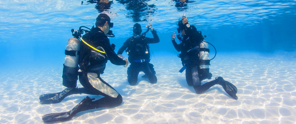 Learning to snokel and becoming PADI open water SCUBA diving certified increased our enjoyment of the water.