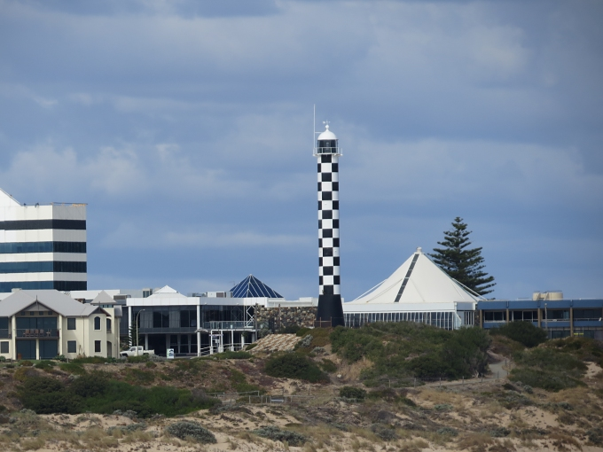 Checkered Bunbury Lighthouse