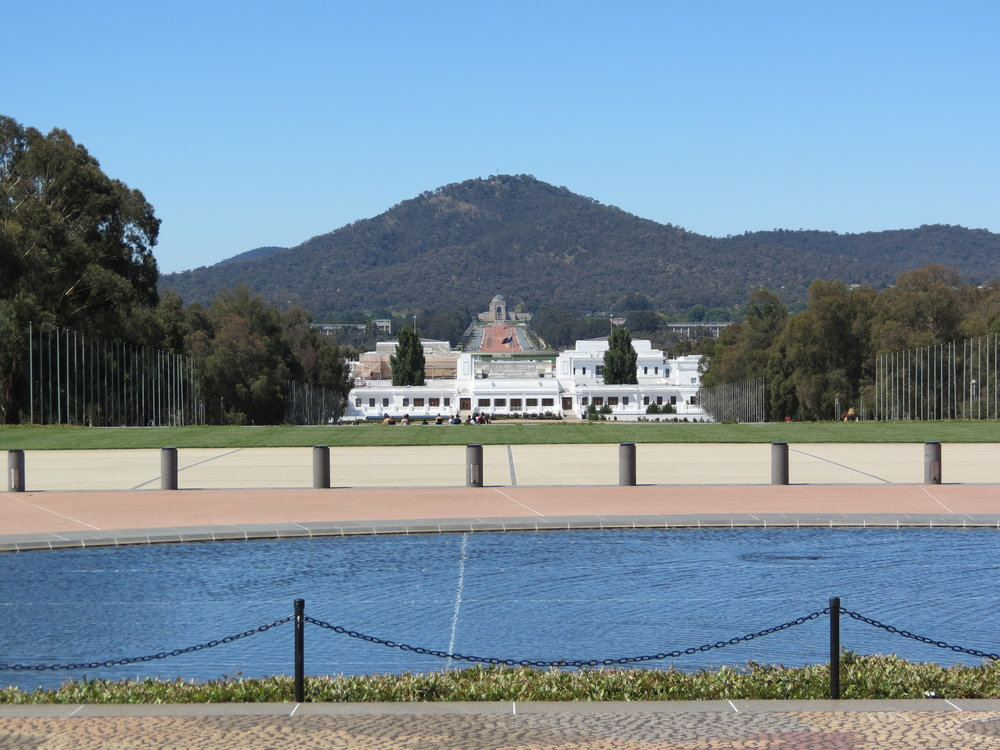 Canberra's old parliament building