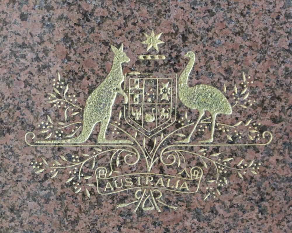 Australian Coat of Arms at the Royal Australian Mint
