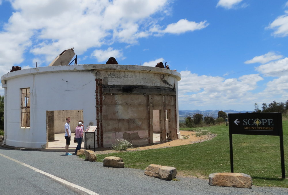 Observatory atop Mount Stromlo. Canberra, ACT