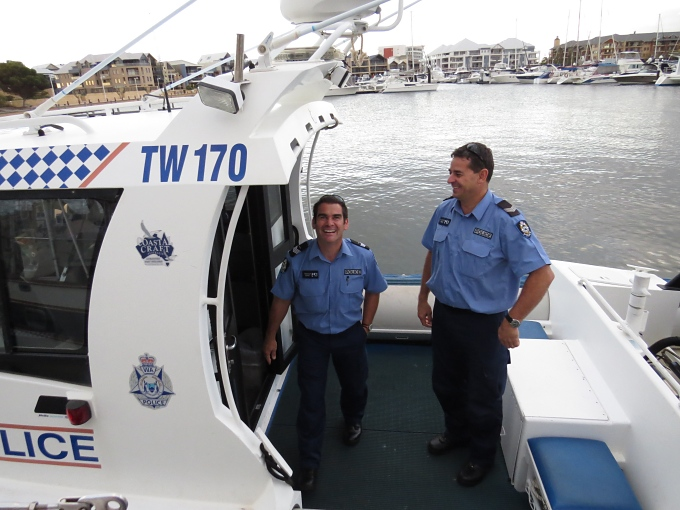 Friendly water cops