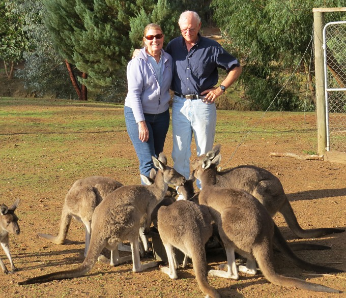 Dwellingup with Rick, Theresa & locals